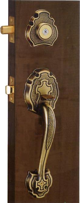 TPY-5901AB 大把門鎖(古銅色)